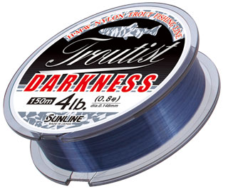 SUNLINE Troutist Darkness 150m 3.5# (0.310mm, 16lb)