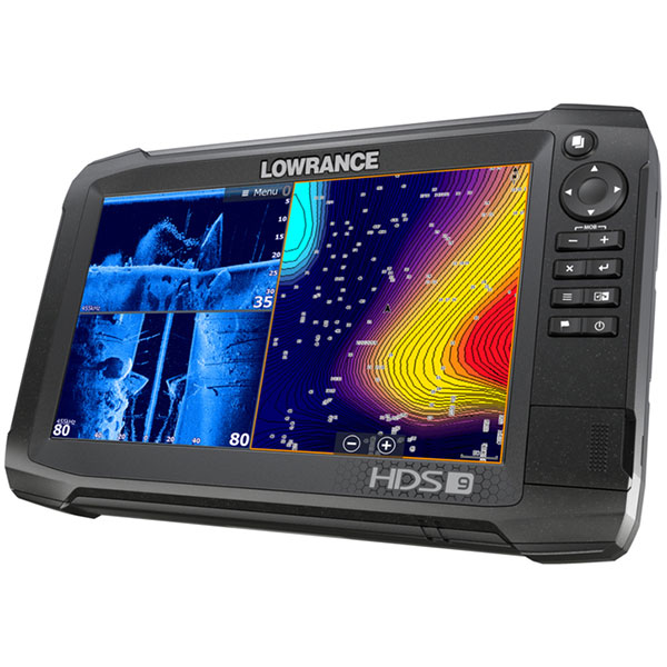 Eholote Lowrance HDS-9 Carbon TotalScan