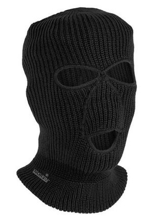 Cepure-maska Norfin KNITTED BL