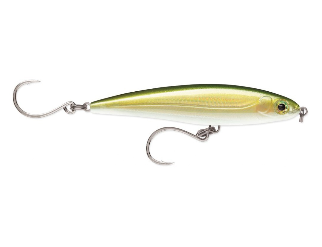 X-Rap Twitchin Minnow Single Hook GO