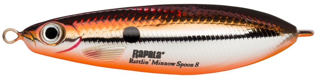 Rapala RATTLIN' MINNOW SPOON RMSR08 SBR